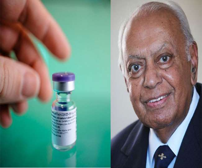A 87 – year – old Indian man to get the first vaccine against COVID – 19