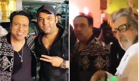 Govinda burns the dance floor to Coolie No 1 song at birthday bash.