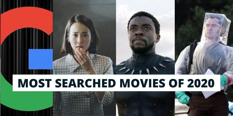 List of 10 Most Googled films for the year 2020 is now released !