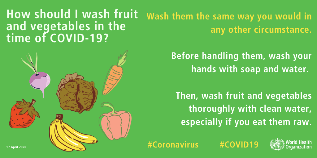 Tips to keep your fruits and vegetables fresh for a long time in this situation