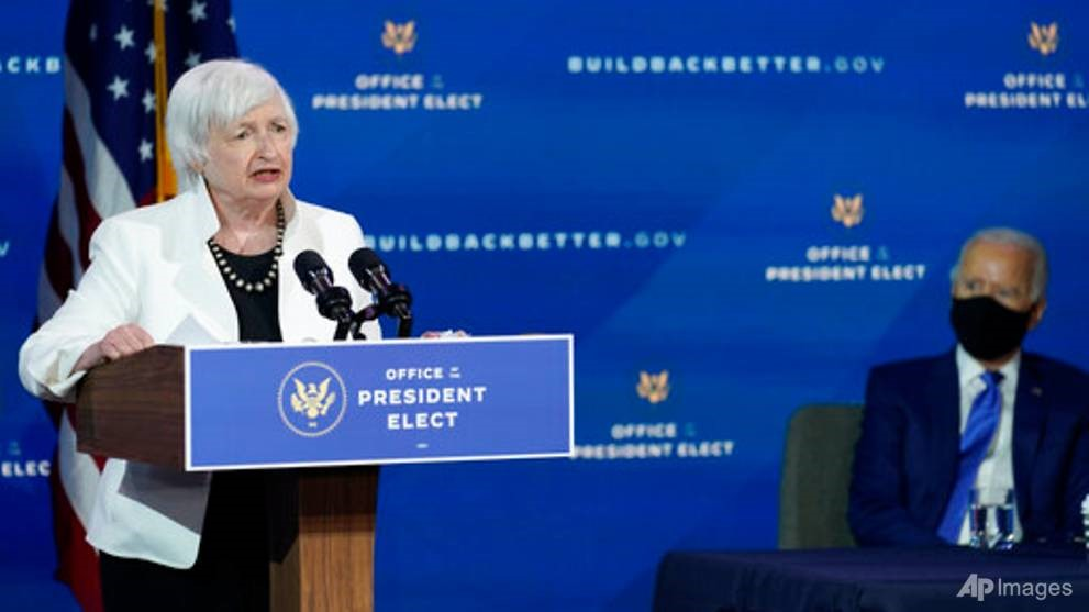 US Senate votes to confirm Yellen as first female Treasury chief