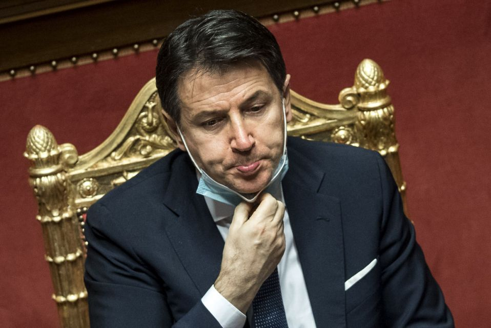 Italian PM Conte resigns, leaving country adrift in between the pandemic