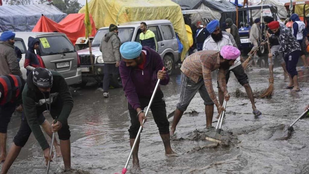 The Farmers are unfazed by the rain and harsh weathers and said that it's a sign of prosperity