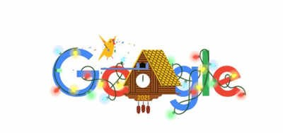 The arrival of the New Year – 2021 ! Google announced with a special doodle