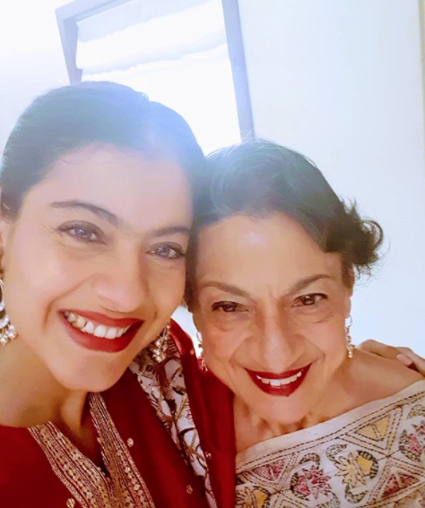 Kajol says mom Tanuja explained everything to her like an adult…