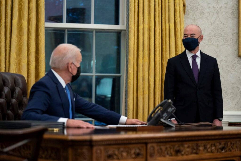 Biden signs immigration orders as Congress awaits more
