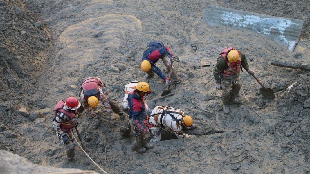 Don't blame only climate. The Chamoli disaster was also human-induced