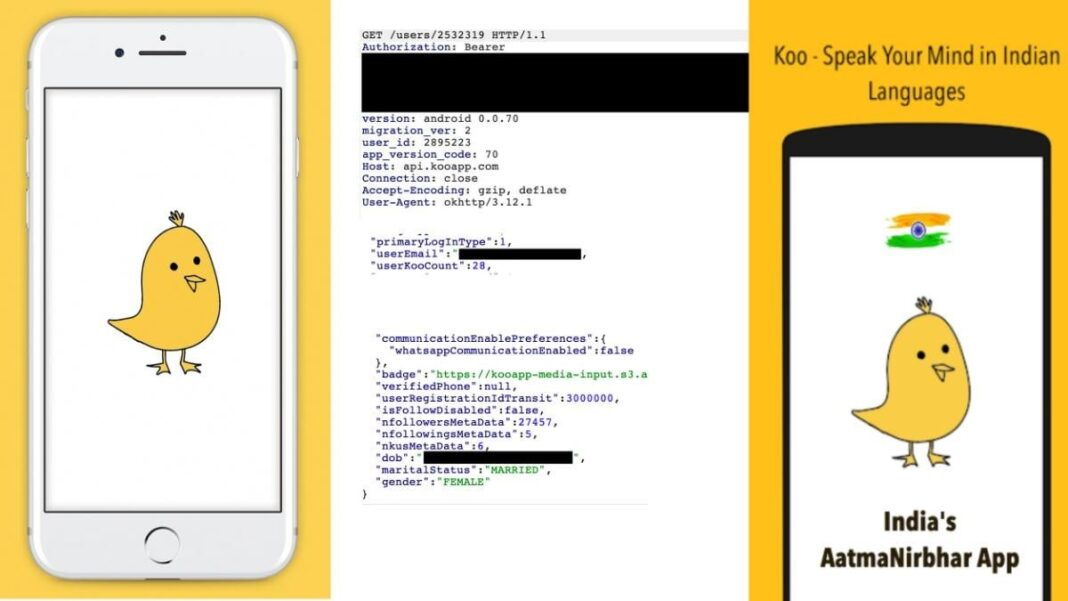 Koo app found to be leaking sensitive users data, China connection surfaces