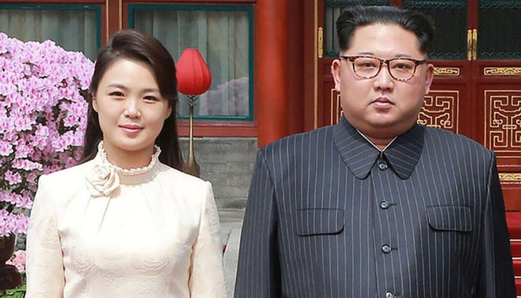 Kim Jong Un's wife reappears after unusual one-year absence