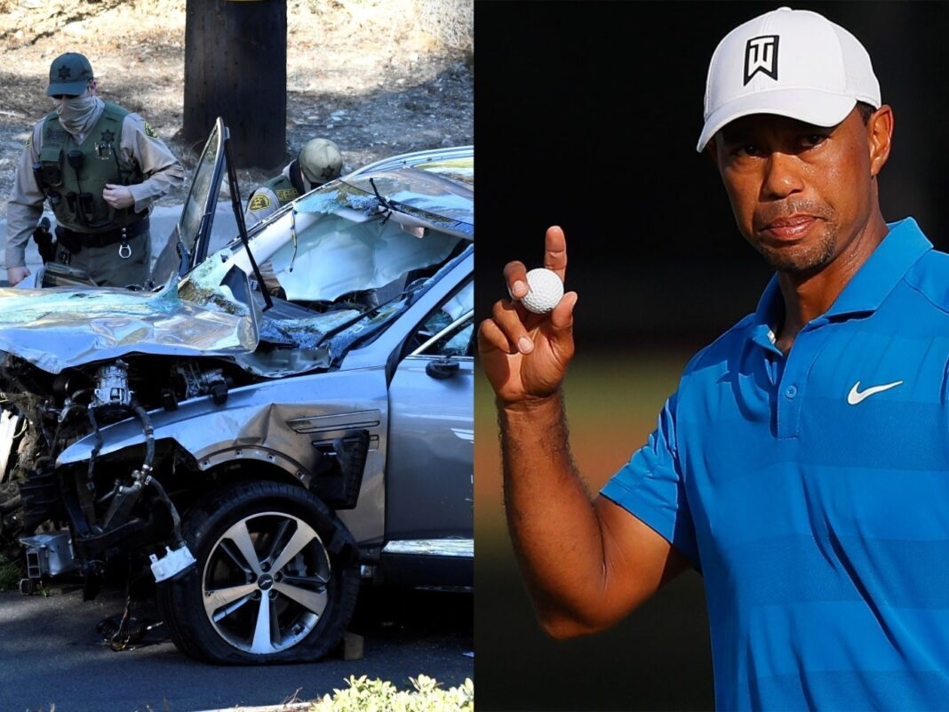 Tiger Woods car crash: Woods recovering from surgery to repair 'significant' leg injuries