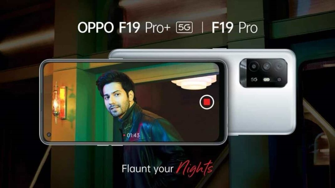 The fast-charging king & videography wizard, OPPO F19 Pro+5G, goes on sale today