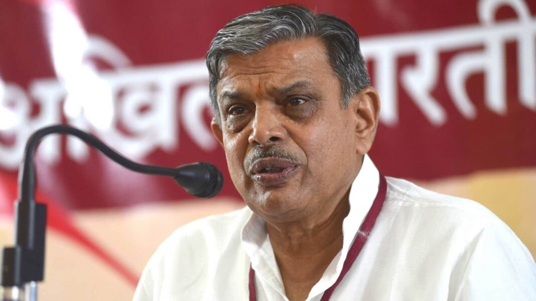 Dattatreya Hosabale, the second Kannadiga to occupy No 2 position in RSS after H V Seshadri