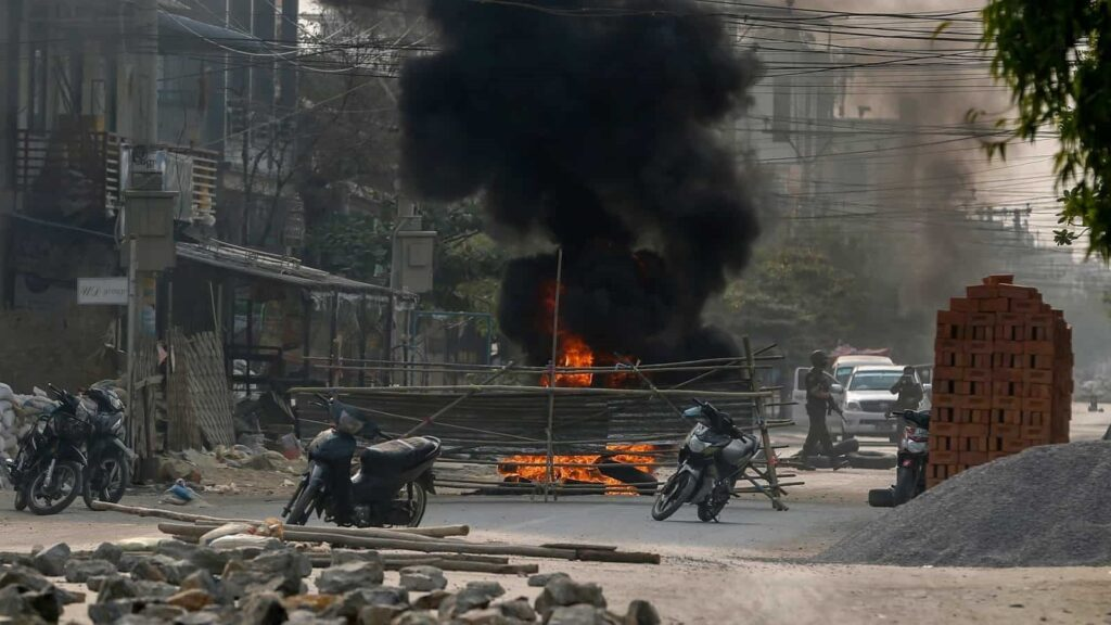 Myanmar: 7-year-old girl killed after security forces open fire in Mandalay