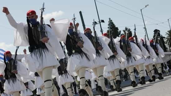 Greek Independence Day events culminate in military parade