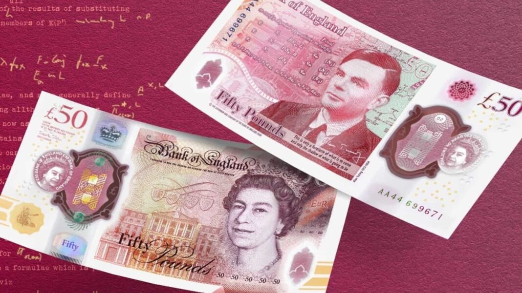 World War II codebreaker Alan Turing is the new face of Britain's £50 note