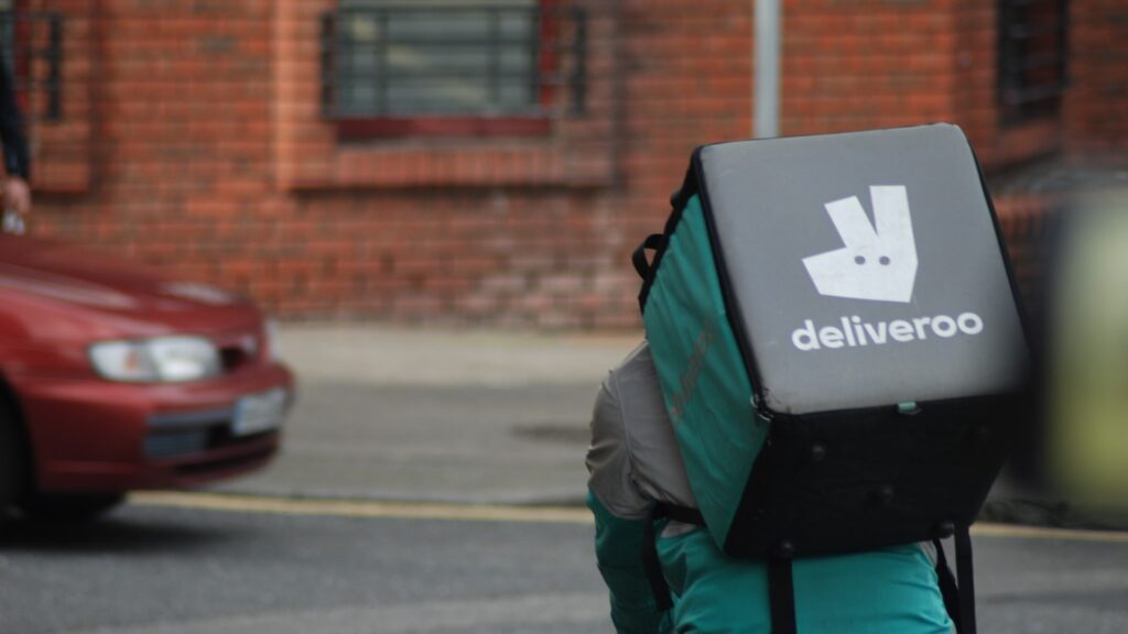 'We need proper pay': Deliveroo riders flood UK streets in rights strike