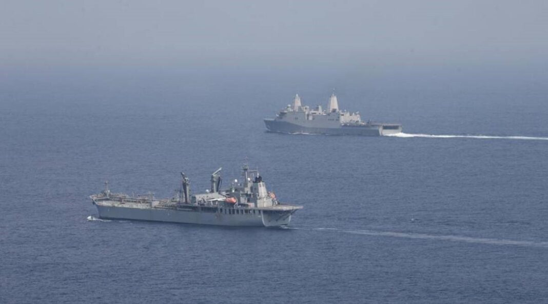 Asserted navigational rights off Lakshadweep without India's permission: US Navy