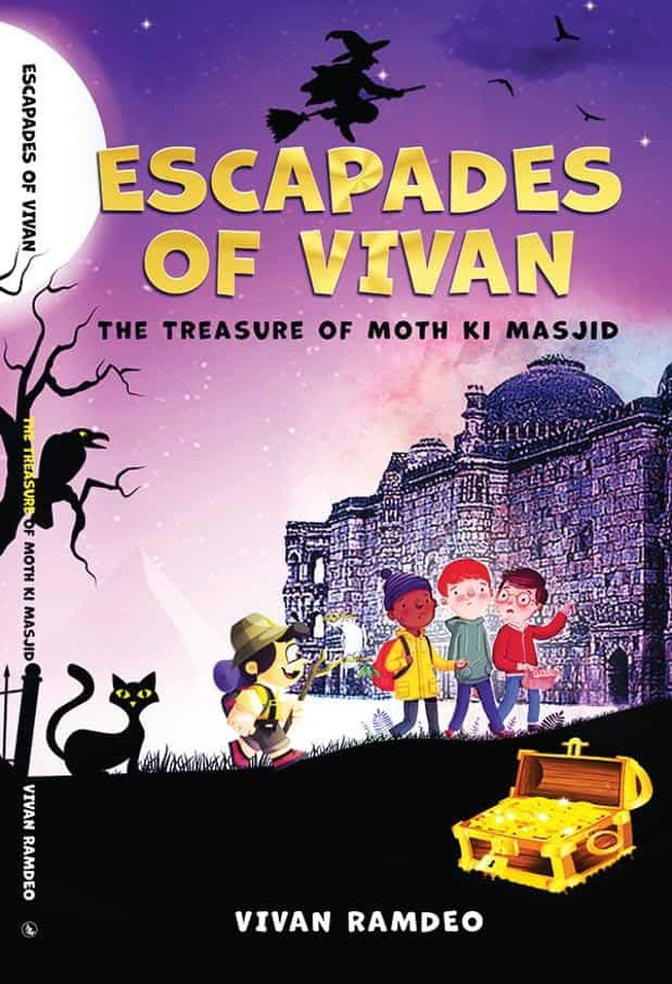 Many wonder how can a kid write a book for other kids: Vivan Ramdeo